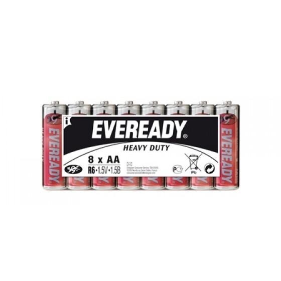 Energizer Eveready SHD Kohle-Zink Mignon (AA) Folienpack 8er Blister