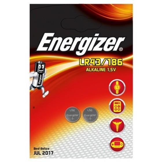 Energizer LR43 (186) in 2er-Blister