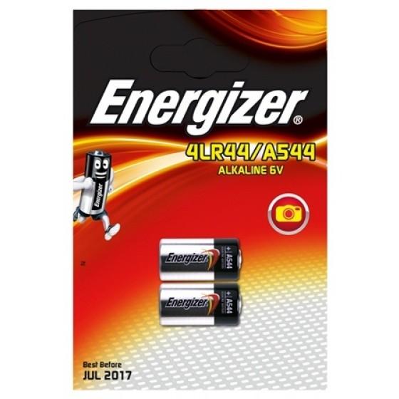 Energizer 4LR44/A544 Alkali 6V in 2er Blister