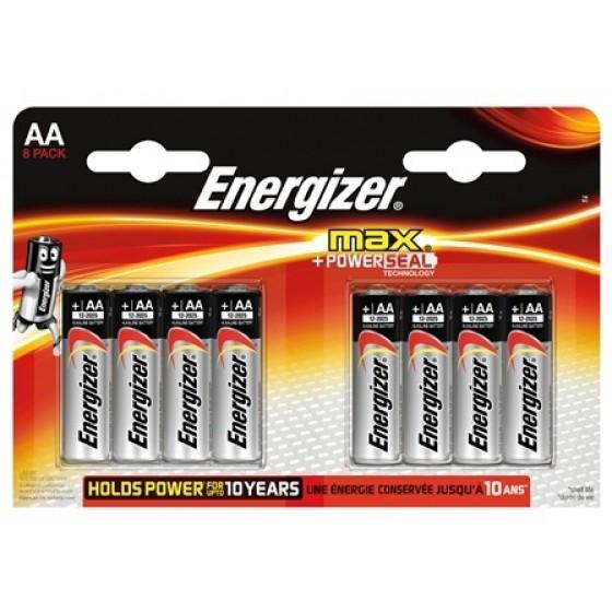 Energizer Max Mignon E91 (AA) in 8er Blister