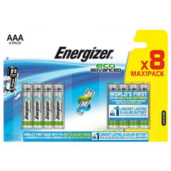 Energizer Eco Advanced Micro (AAA) 8 Stück