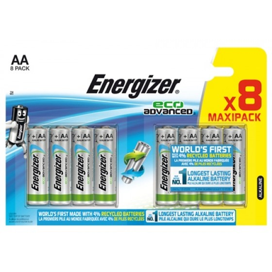 Energizer Eco Advanced AA / Mignon / LR6 8er