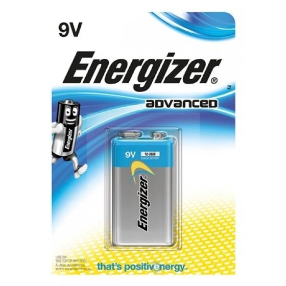 Energizer Advanced 9V E-Block im 1er-Blister