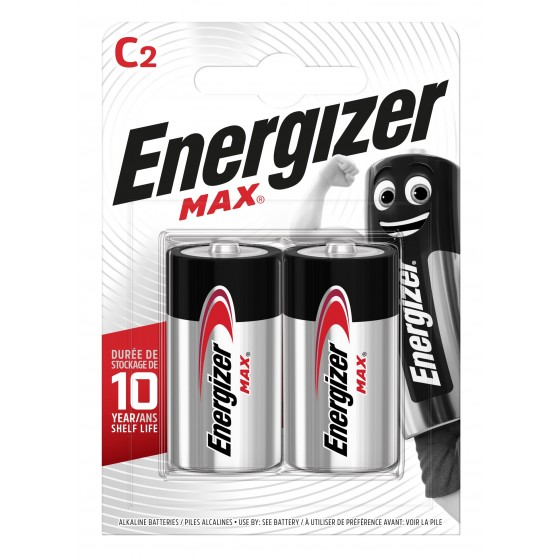 Energizer Max Baby (C) in 2er Blister