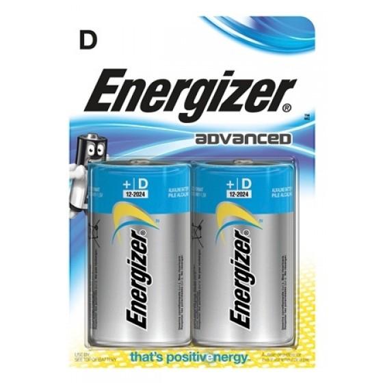 Energizer Advanced Mono (D) im 2er-Blister