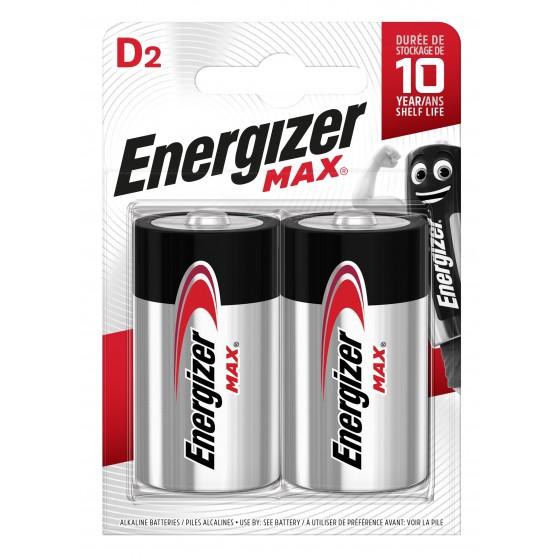 Energizer Max Mono (D) in 2er Blister