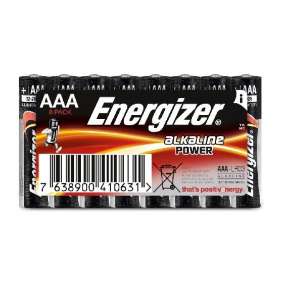 Alkaline Power Micro (AAA) Schlauch 8er Blister