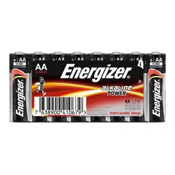 Energizer Mignon Alkaline Power (AA) Schlauch in 8er-Blister