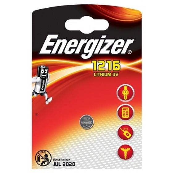 Energizer Spezialbatterie / Lithium CR-Typ 1216 1er Blister