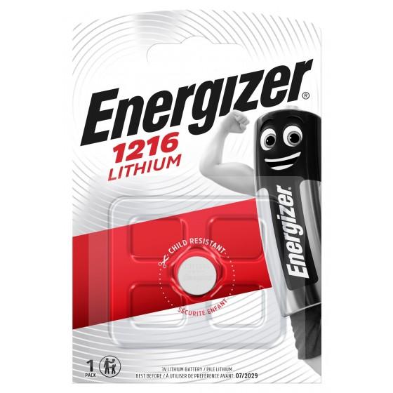 Energizer CR 1216 3V Lithium in 1er-Blister
