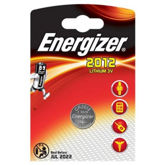Energizer CR2012 Lithium 3V in 1er-Blister