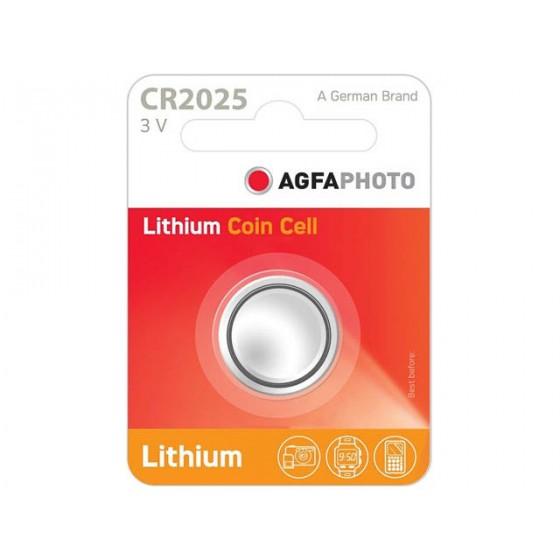 AGFAPHOTO CR2025 3V Lithium im 1er-Blister