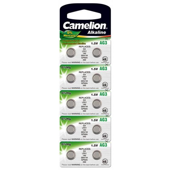 "Camelion AG 3/LR41/LR736/392 im 10er-Blister ""No Mercury"""