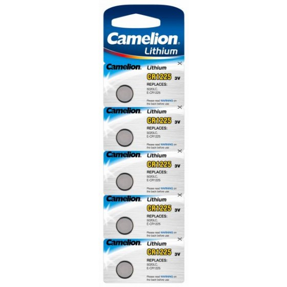 Camelion CR1225 3V Lithium in 5er-Blister