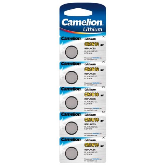 Camelion CR1616 3V Lithium in 5er-Blister