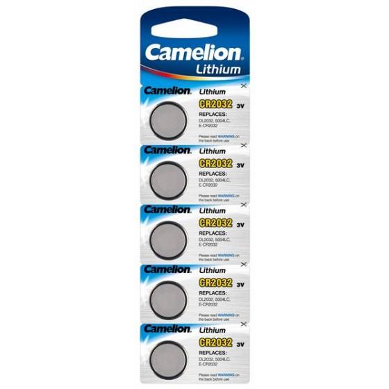 Camelion CR2032 3V Lithium im 5er-Blister