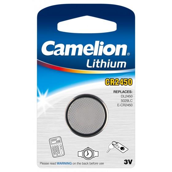 Camelion CR2450 3V Lithium in 1er-Blister