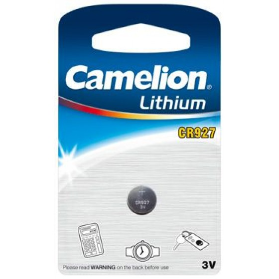 Camelion CR927 3V Lithium in 1er-Blister