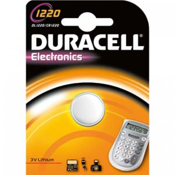 Duracell DL1220 3V Lithium in 1er-Blister (groß)