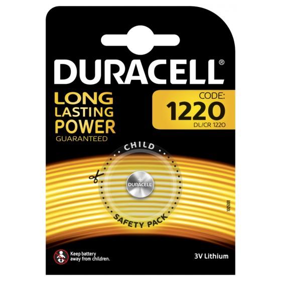 Duracell DL1220 3V Lithium in 1er-Blister (groß)