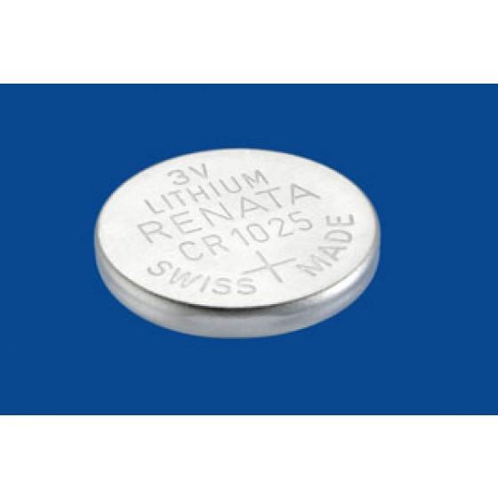 Renata CR1025.CU 3V Lithium in 1er-Blister 30mAh