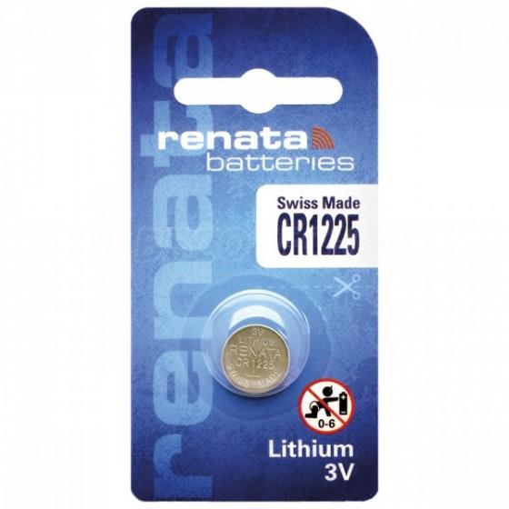 Renata CR1225.CU 3V Lithium in 1er-Blister 48mAh