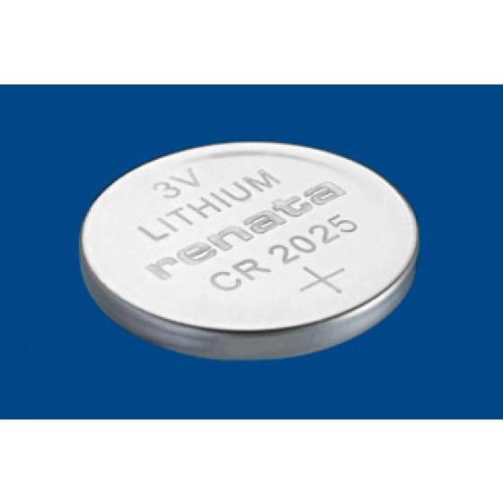 Renata CR2025.CU MFR 3V Lithium in 1er-Blister 165mAh