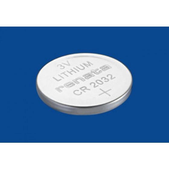 Renata CR2032.CU MFR 3V Lithium in 1er-Blister 225mAh