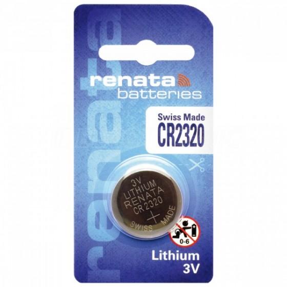 Renata CR2320.CU 3V Lithium in 1er-Blister 150mAh