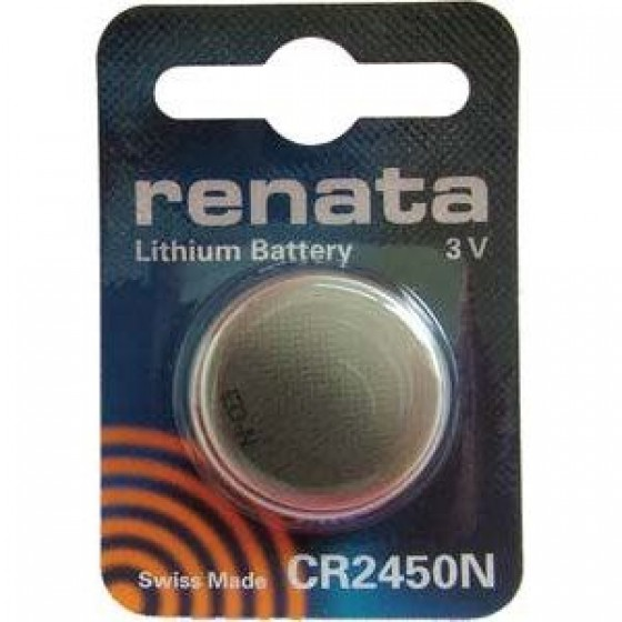 Renata CR2450N  3V Lithium in 1er-Blister