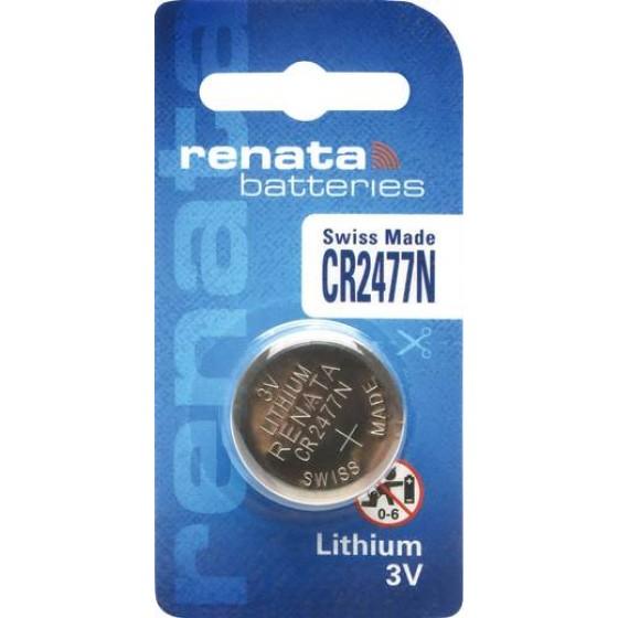 Renata CR2477N  3V Lithium in 1er-Blister