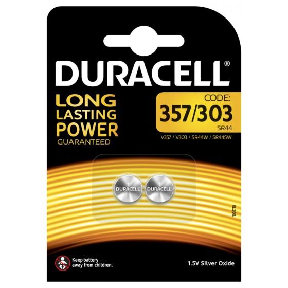 Duracell D357/303 (10L14) in 2er-Blister (groß)