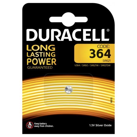 Duracell D364 (SR621SW/SR60/V364) 1er-Blister (groß)