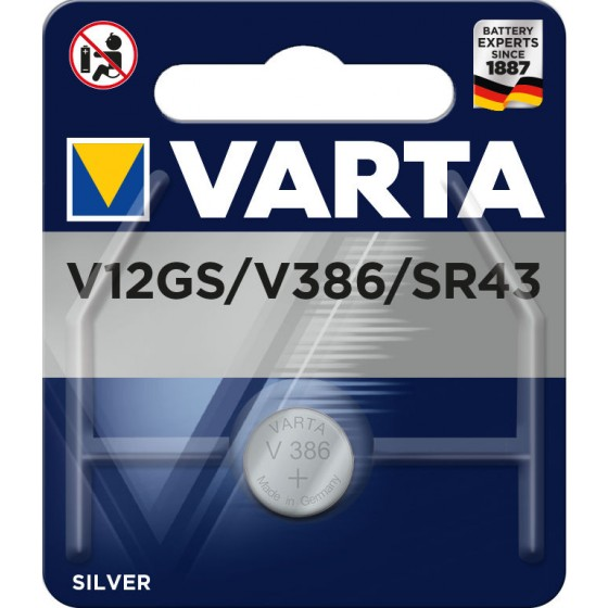 VARTA ELECTRONICS V12GS / V386 1er Blister