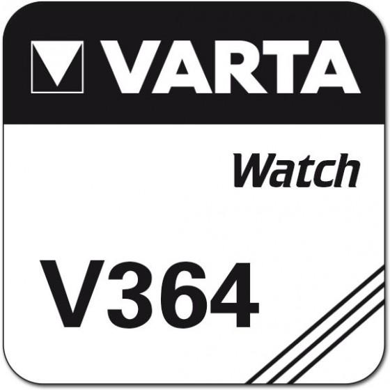Varta V364  (SR621SW/SR60/164/G1) Nr. 00364 101 111