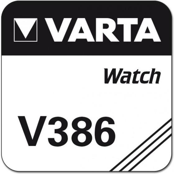 Varta V386 (SR43, SR1142, SG12, V12GS) Nr. 00386 101 111