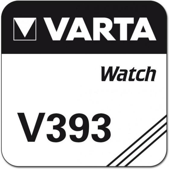 Varta V393  (SR48/546/SR754W/193/G5)   1,55V Nr. 00393 101 111