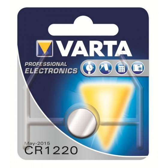 Varta CR1220 6220 101 401 3V Lithium in 1er-Blister