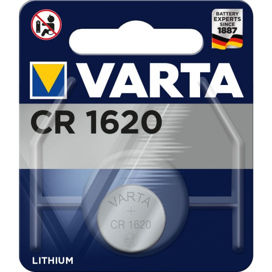 2 x Varta CR 1620 + LR44