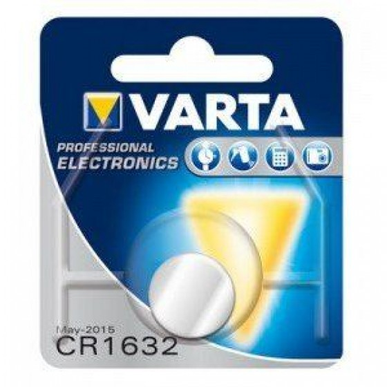 Varta CR1632 6632 101 401 3V Lithium in 1er-Blister