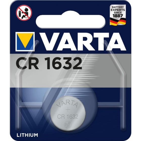 2 x Varta CR 1632 + Cardiocell LR44
