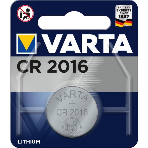 Varta CR2016 6016 101 401 3V Lithium in 1er-Blister 87mAh