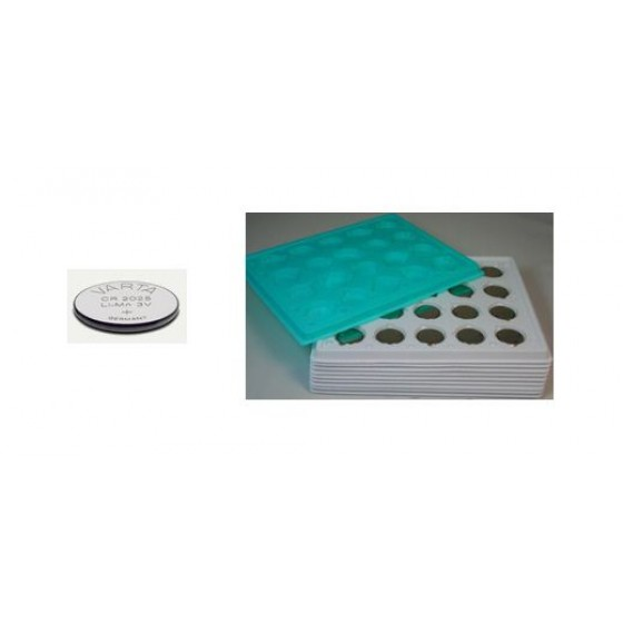 Varta CR2025 Nr. 06025 101 501 3V Lithium in Bulk