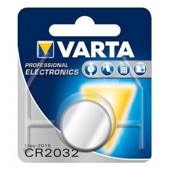 Varta CR2032 6032 101 401 3V Lithium in 1er-Blister 230mAh