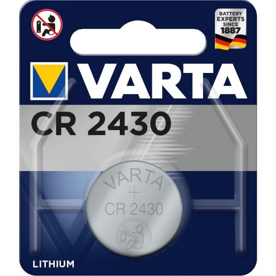 Varta CR2430 6430 101 401 3V Lithium in 1er-Blister