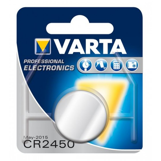 Varta CR2450 6450 101 401 3V Lithium in 1er-Blister