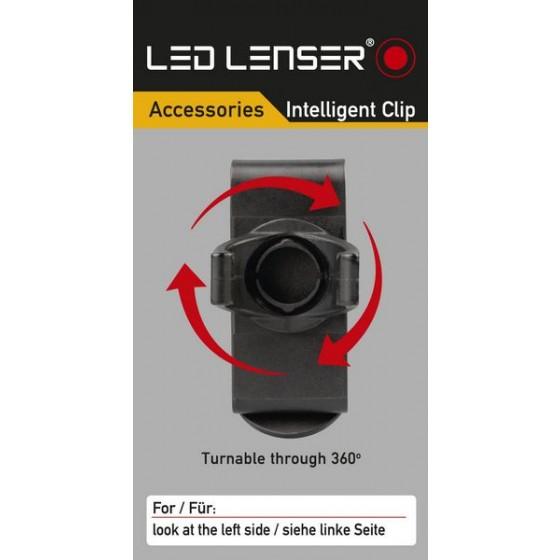 LED LENSER Intelligent Clip Gürtelclip für P7, T7