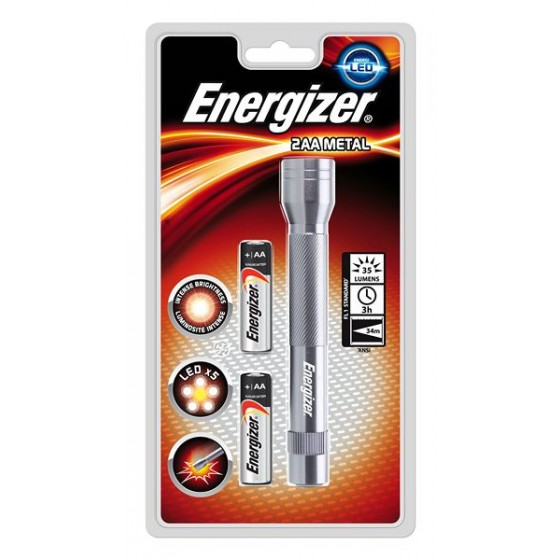 Taschenlampe Energizer 634042 Metal Light 2AA