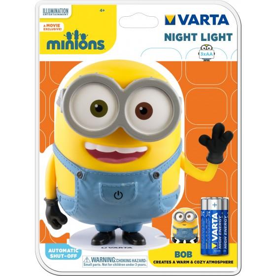 Taschenlampe Varta 15615  Minions Nachtlicht inkl. 3x  AA Batterien