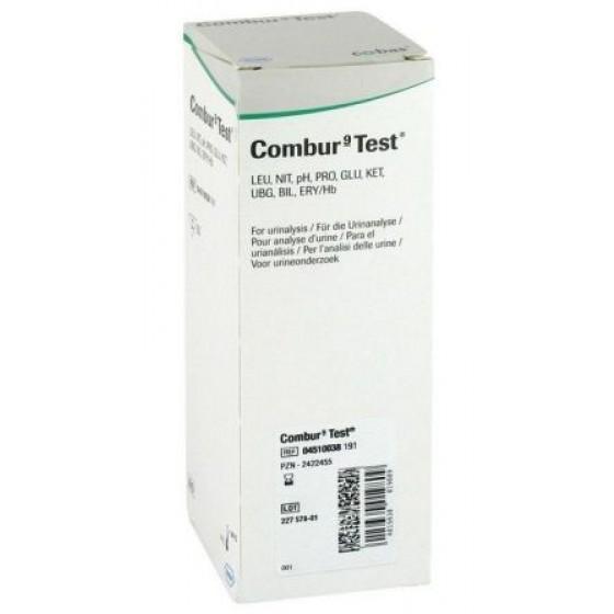 Combur 9 Teststreifen 50 Stück von Roche Diagnostics, Urintest, Harnteststreifen